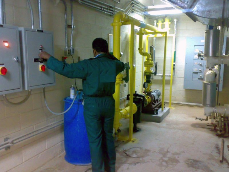 water treatment chlorination disinfection ELP Scientific